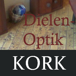 Kork in Dielen-Optik